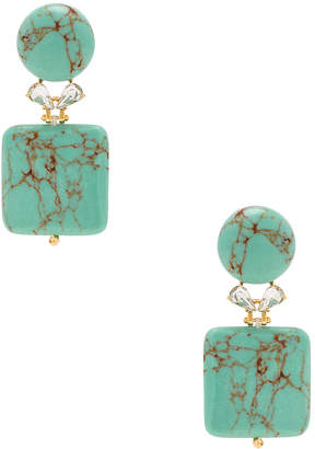 Lele Sadoughi Stone Starlet Earrings