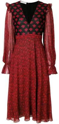 Philosophy di Lorenzo Serafini contrast floral dress