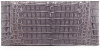 Nancy Gonzalez Sabre Crocodile Clutch Bag