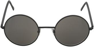 Handmade Elliot Round Metal Sunglasses $324 thestylecure.com