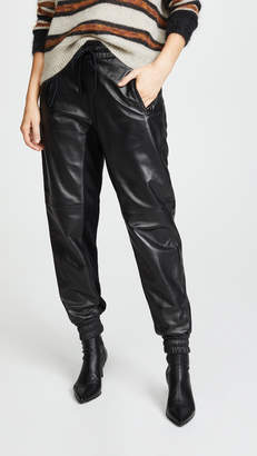 Coach 1941 Leather Track Pants