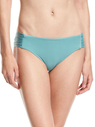 Luxe by Lisa Vogel Premier Shirred-Side Swim Bottom $58 thestylecure.com