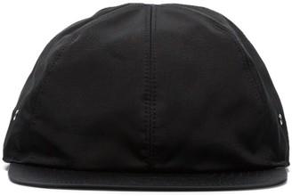Alyx black flat peak baseball cap