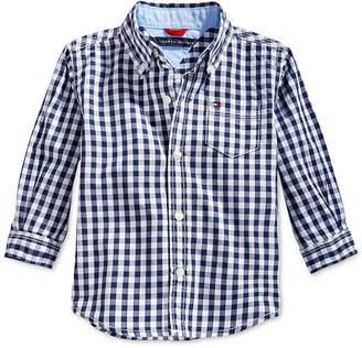 Tommy Hilfiger Baby Boys' Baxter Plaid Shirt $27.50 thestylecure.com