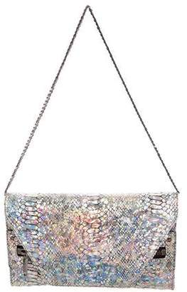 Milly Leather Metallic Bag