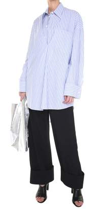 MM6 MAISON MARGIELA Layered Striped Cotton-poplin Oversized Shirt