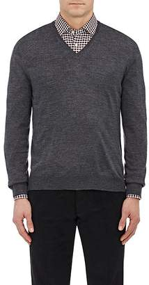 Barneys New York Men's Wool V-Neck Sweater