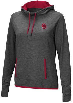 Colosseum Women's Oklahoma Sooners Cowl Neck Hooded Sweatshirt