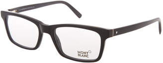 Montblanc MB 541 Black Rectangular Optical Frames
