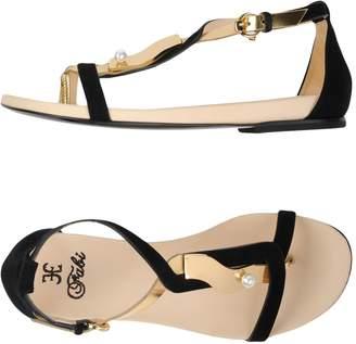 Fabi Toe strap sandals