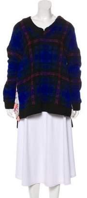Thakoon Plaid Knit Sweater