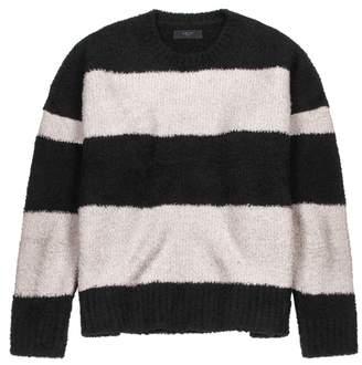 Amiri Striped Boucle-knit Jumper