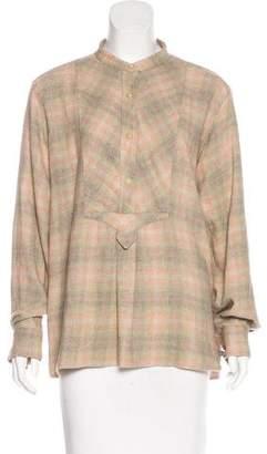 Etoile Isabel Marant Plaid Flannel Top