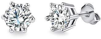 Swarovski Rafaela Donata Classic Collection Rafaela Donata - Stud Earring - Brass embellished with Crystals, Brass Jewelry, Brass Earrings, Crystals Jewelry - 60836023