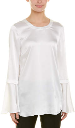 a4f0aba3f48f1 BCBGMAXAZRIA White Bell Sleeve Women s Tops - ShopStyle
