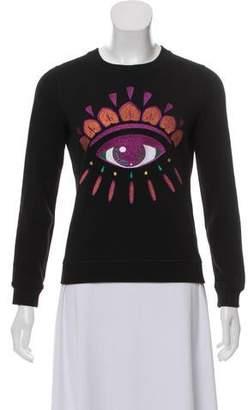 Kenzo Metallic Knit Sweatshirt
