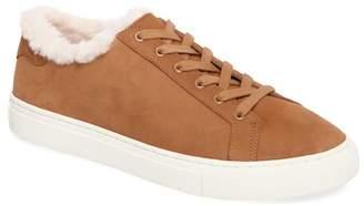 Tory Burch Lawrence Genuine Shearling Lined Sneaker (Women)