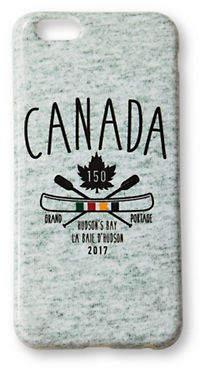 HBC GRAND PORTAGE Canada Printed iPhone 6-6S Case