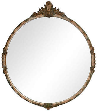 One Kings Lane Vintage Italian Hand-Carved Mirror - Fleur de Lex Antiques