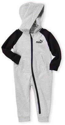 Puma Infant Boys) Fleece Hooded Romper