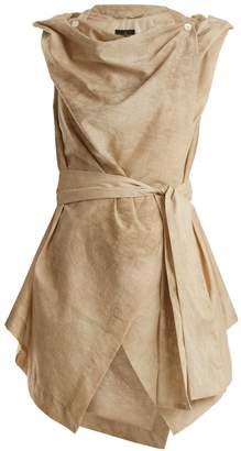 Vivienne Westwood Draped tie-waist cotton top