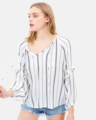 Amuse Society Solare Woven Shirt