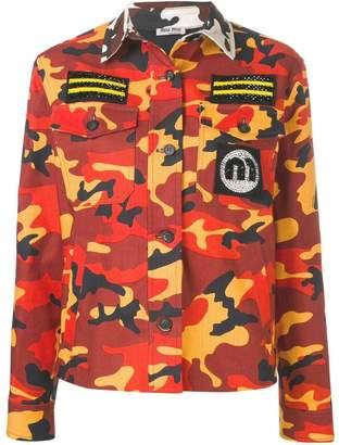 c281568a Miu Miu camouflage military jacket