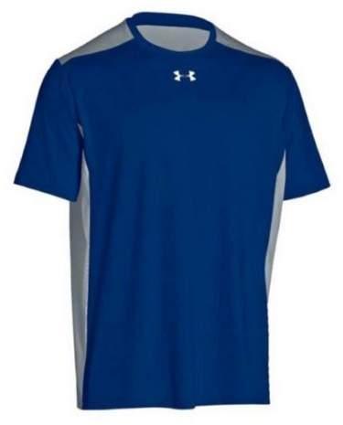 Under Armour Team Raid T-Shirt Tee Men's UA Short Sleeve Colorblock (Royal, XL)