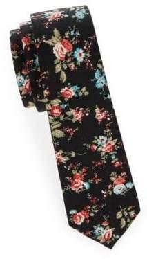 Slim Cotton Tie