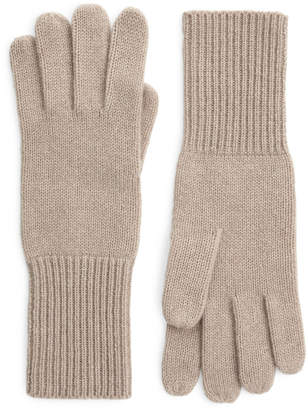 BEIGE Arket Recycled Cashmere Gloves