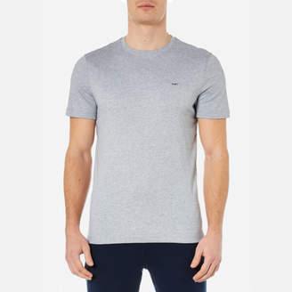 Michael Kors Men's Liquid Jersey Crew Neck Short Sleeve TShirt - Heather Grey