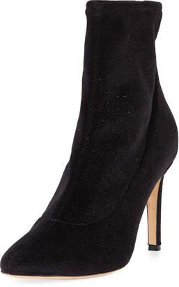 Giuseppe Zanotti Embellished Velvet Boot
