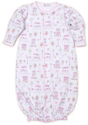 Kissy Kissy Parisian Promenade Printed Convertible Sleep Gown, Size Newborn-Small