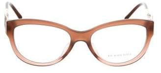 Burberry Cat-Eye Logo Eyeglasses