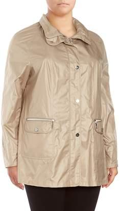 Basler Women's Hooded Raincoat