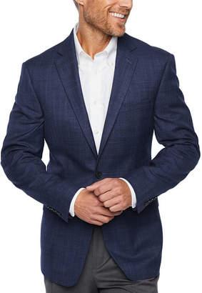 Claiborne Slim Fit Woven Checked Sport Coat - Slim