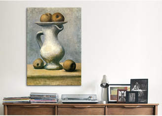 Lark Manor 'Still Life with A Pitcher And Apples' by Pablo Picasso Painting Print on Wrapped Canvas