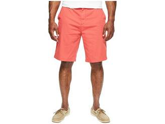 Nautica Big Tall True Khaki Flat Front Short