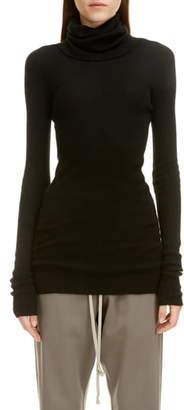 Rick Owens Cashmere Turtleneck Sweater