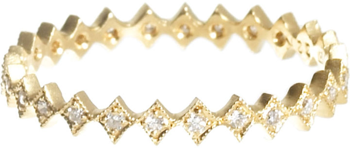 Cathy Waterman Stackable Diamond Band