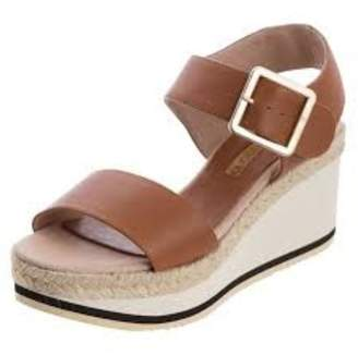 Andre Assous Brown Wedge Sandal