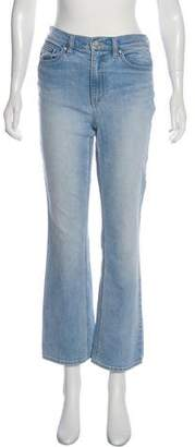 Tory Burch High-Rise Straight Jeans