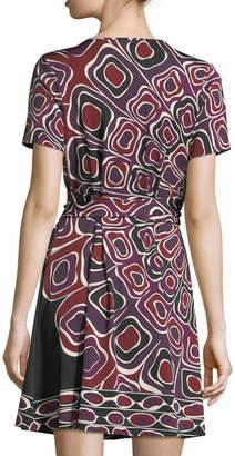 Julie Brown Marlina Jersey Wrap Dress