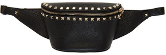 Valentino Black Garavani Rockstud Belt Bag