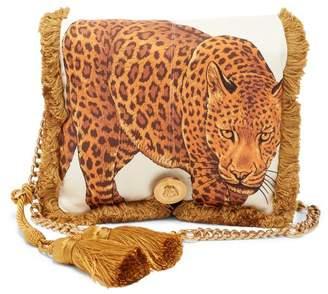 Versace - Pillow Talk Leopard Print Clutch - Womens - Leopard