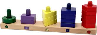 Melissa & Doug Kids Toy, Stack & Sort Board