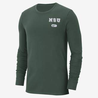 Nike College Elevated Essentials (Clemson) Men's Long Sleeve Top