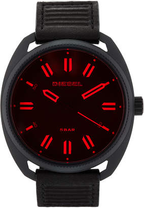 Diesel DZ1837 Black & Red Watch