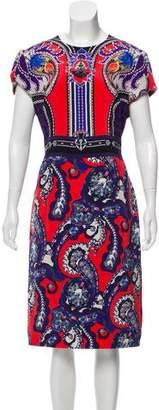 Mary Katrantzou Printed Short Sleeve Dress