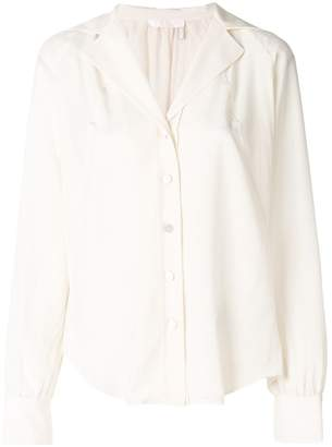 Chloé open-collar shirt